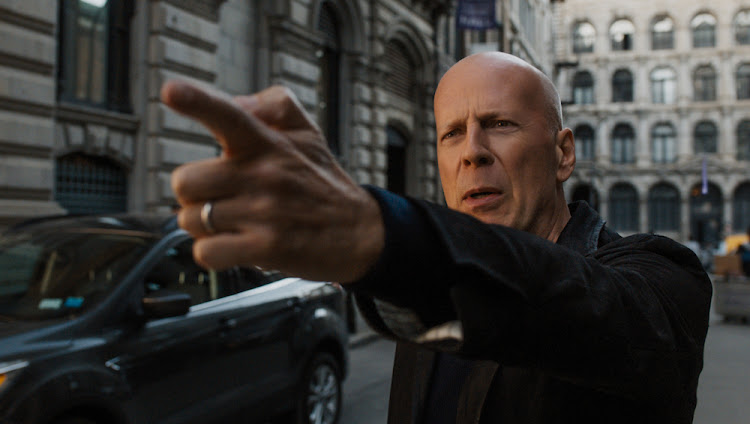 Bruce Willis in the 2018 remake of action film Death Wish.