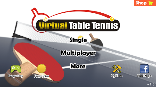 Virtual Table Tennis screenshots 3