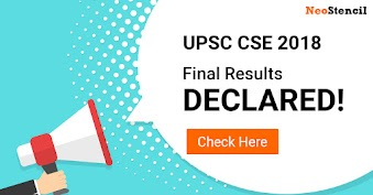 UPSC Civil Services Examination 2018 – Final Results Declared
