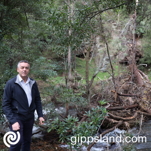 Local MP Darren Chester welcomed the announcement of Wellington now being eligible for Federal Government assistance following recent storms and floods
