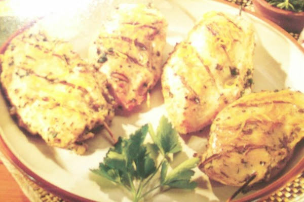 Herb-stuffed Grilled Chicken Recipe