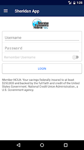 Sheridan Community FCU- screenshot thumbnail