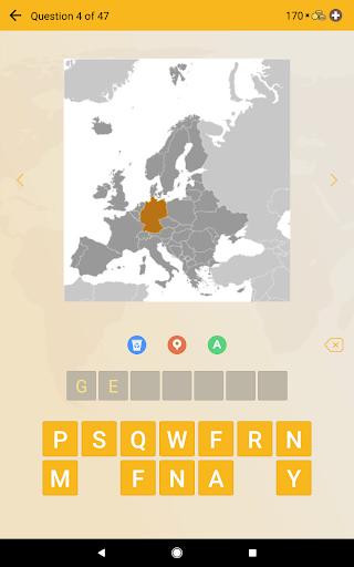 World Geography Quiz: Countries, Maps, Capitals screenshots apkspray 18