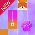 Magic Cat Piano Tiles - Pet Pianist Tap Animal icon