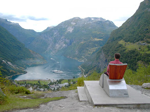 Photo: King of Geiranger
