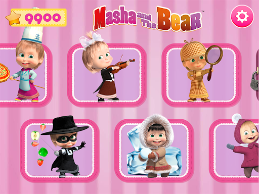 Masha and the Bear. Games & Activities 5.2 screenshots 1