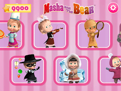 دانلود Masha and the Bear. Games & Activities اندروید