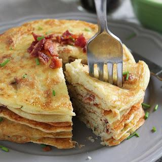 Potato & Bacon Pancakes {Gluten Free}