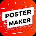 Poster Maker Flyer Creator Banner Designer icon