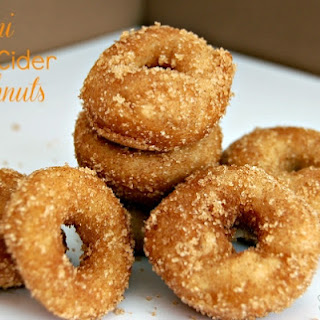 Mini Baked Cider Doughnuts