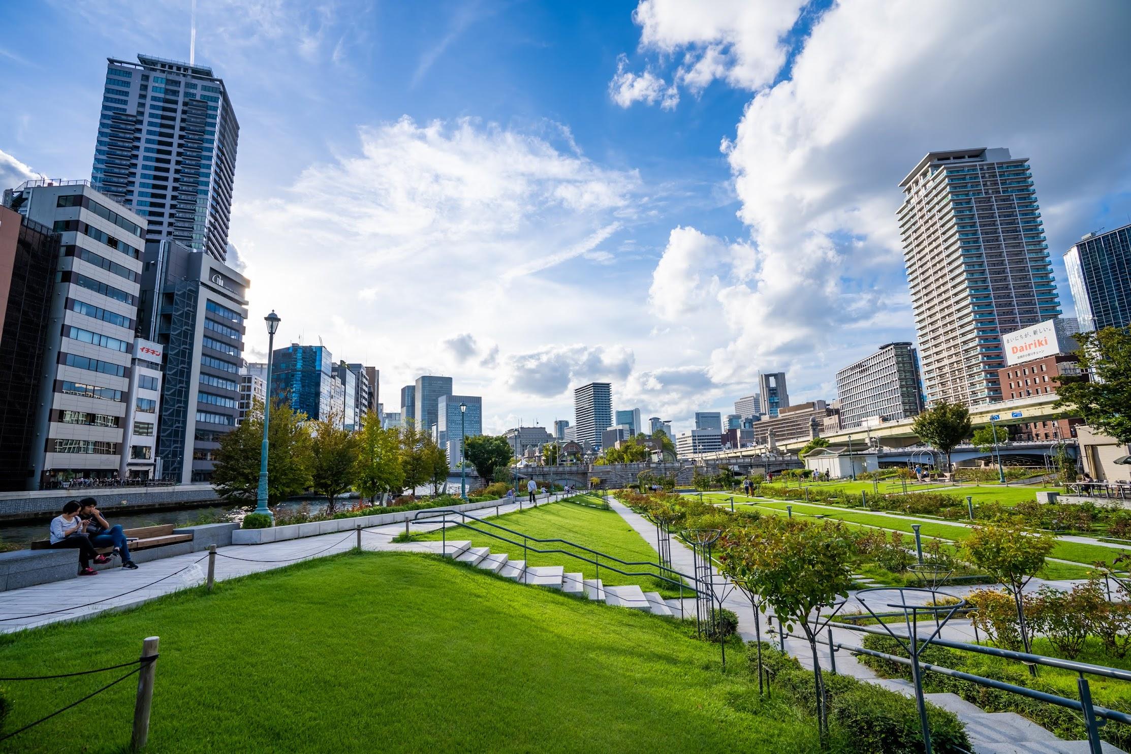 大阪 中之島公園1