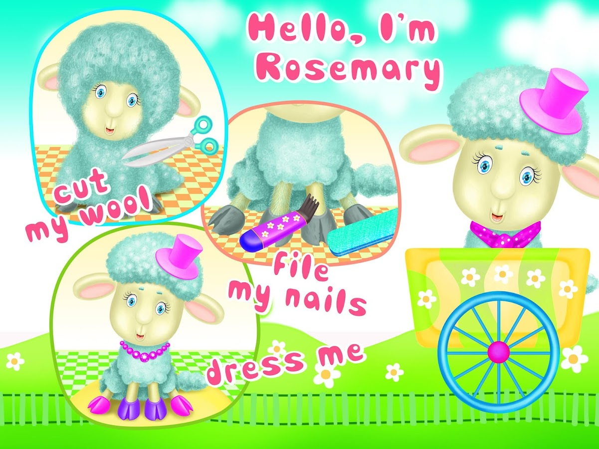 Sweet Baby Animal Beauty Salon- screenshot