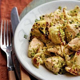 Cauliflower With Chicken Breast.