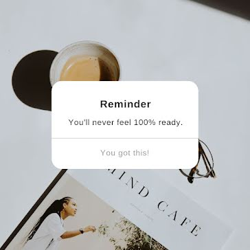You'll Never Feel Ready - Instagram Post template