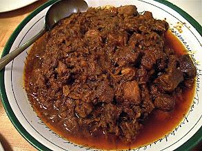 "Photo: northern ""hunglay"" pork curry"