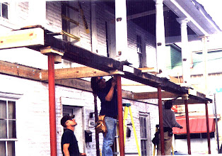 Photo: 401-403 S. Kent St. Porch Repairs