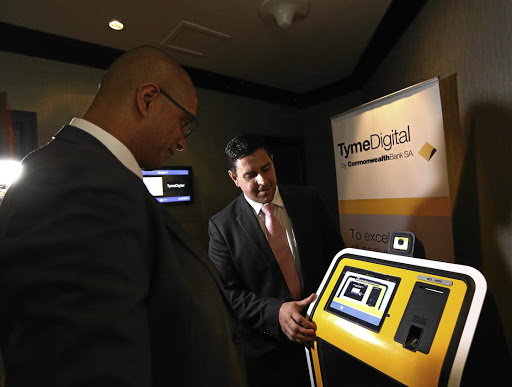 TymeBank, SA's first fully digital bank, is eyeing 700 kiosks by April. Picture: MASI LOSI