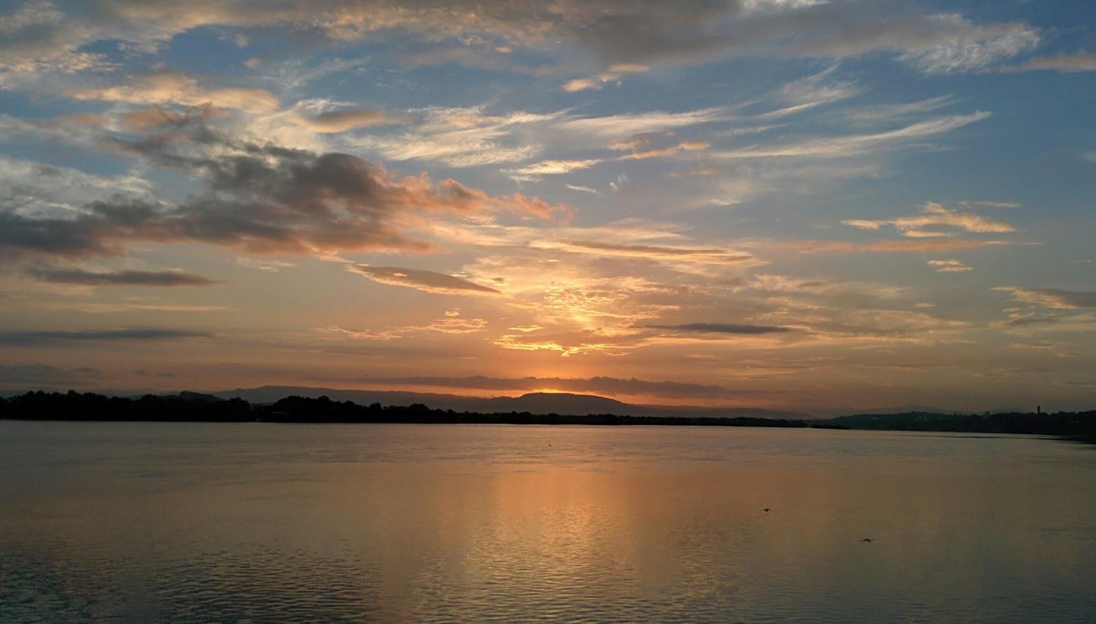 Sunrise at Ribandar.