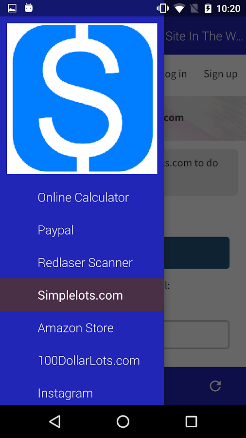 SimpleLots Wholesale- screenshot