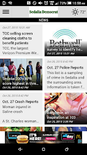 The Sedalia Democrat- screenshot thumbnail