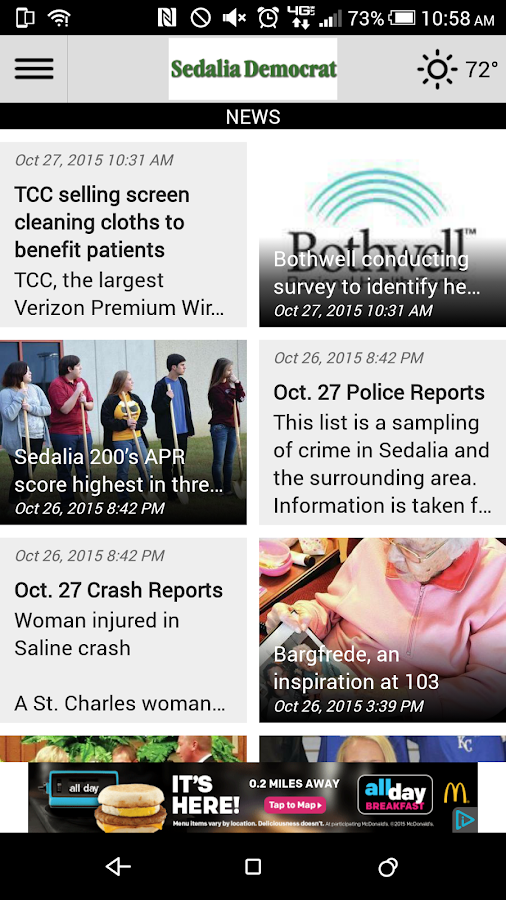 The Sedalia Democrat- screenshot