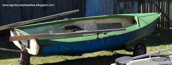 Photo: Duża łódź wiosłowa