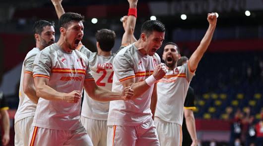 Los 'Hispanos' debutan con una agónica victoria sobre Alemania