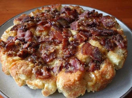 Sticky Bacon Biscuits Recipe