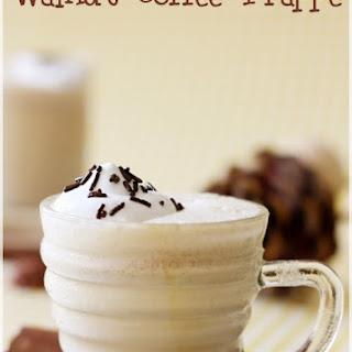 Walnut Coffee Frappe.
