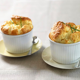 Easy French Spinach Soufflé.