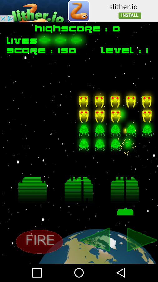 Invaders - Retro Arcade Space Shooter- screenshot