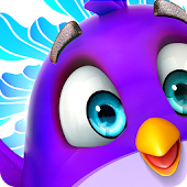 bubble shooter spiele: pop Color Birds V icon