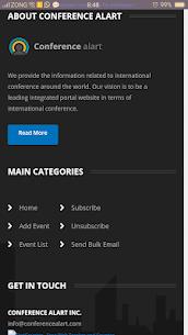 Conference Alerts 6