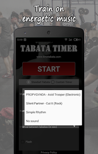 Tabata Timer L with Music - náhled
