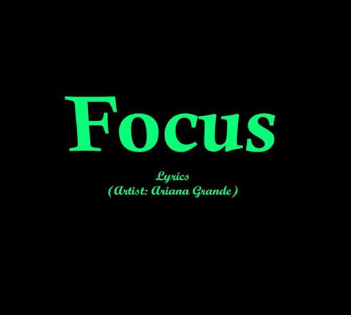 Focus Lyrics