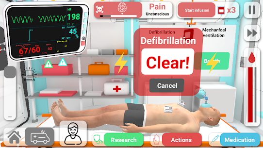 Reanimation inc: Realistic Emergency ER Simulator! Apk Download For Android and Iphone 4