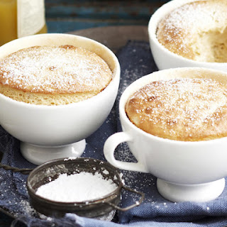 Banana and Lemon Souffles