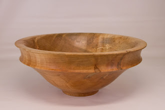 "Photo: Richard Webster 12 1/2"" x 5 1/2"" bowl [maple]"