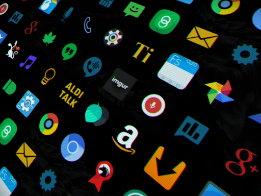 DEEP DARKNESS // icons app (apk) free download for Android/PC/Windows screenshot