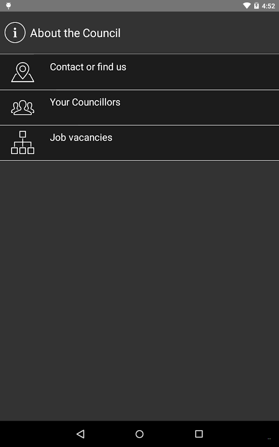 Allerdale Borough Council- screenshot