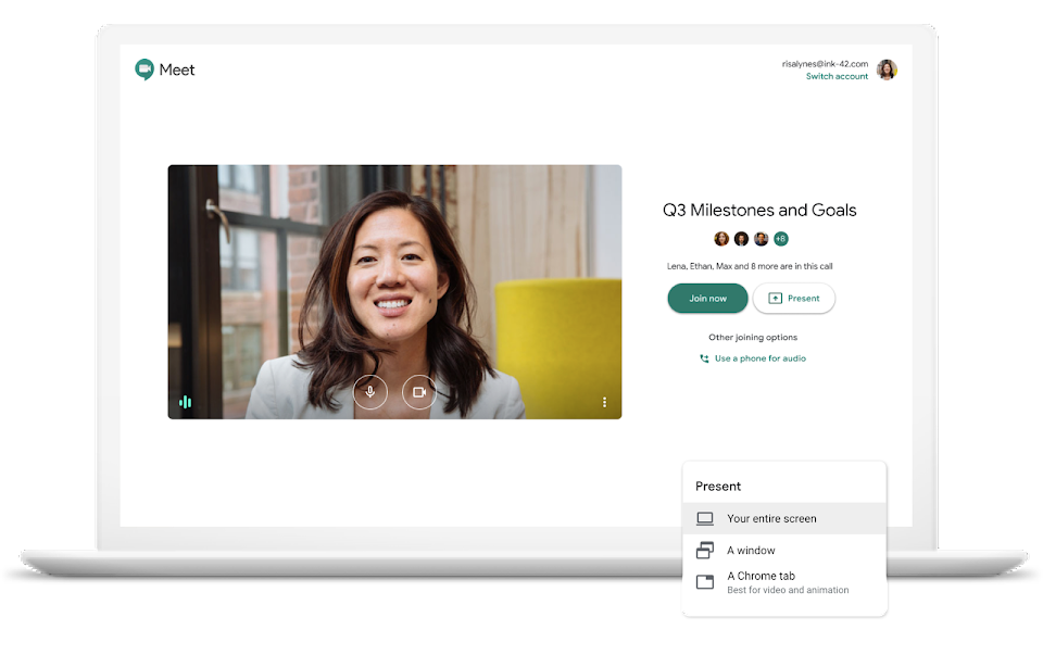 Google Meet Video Conferencing For Business G Suite