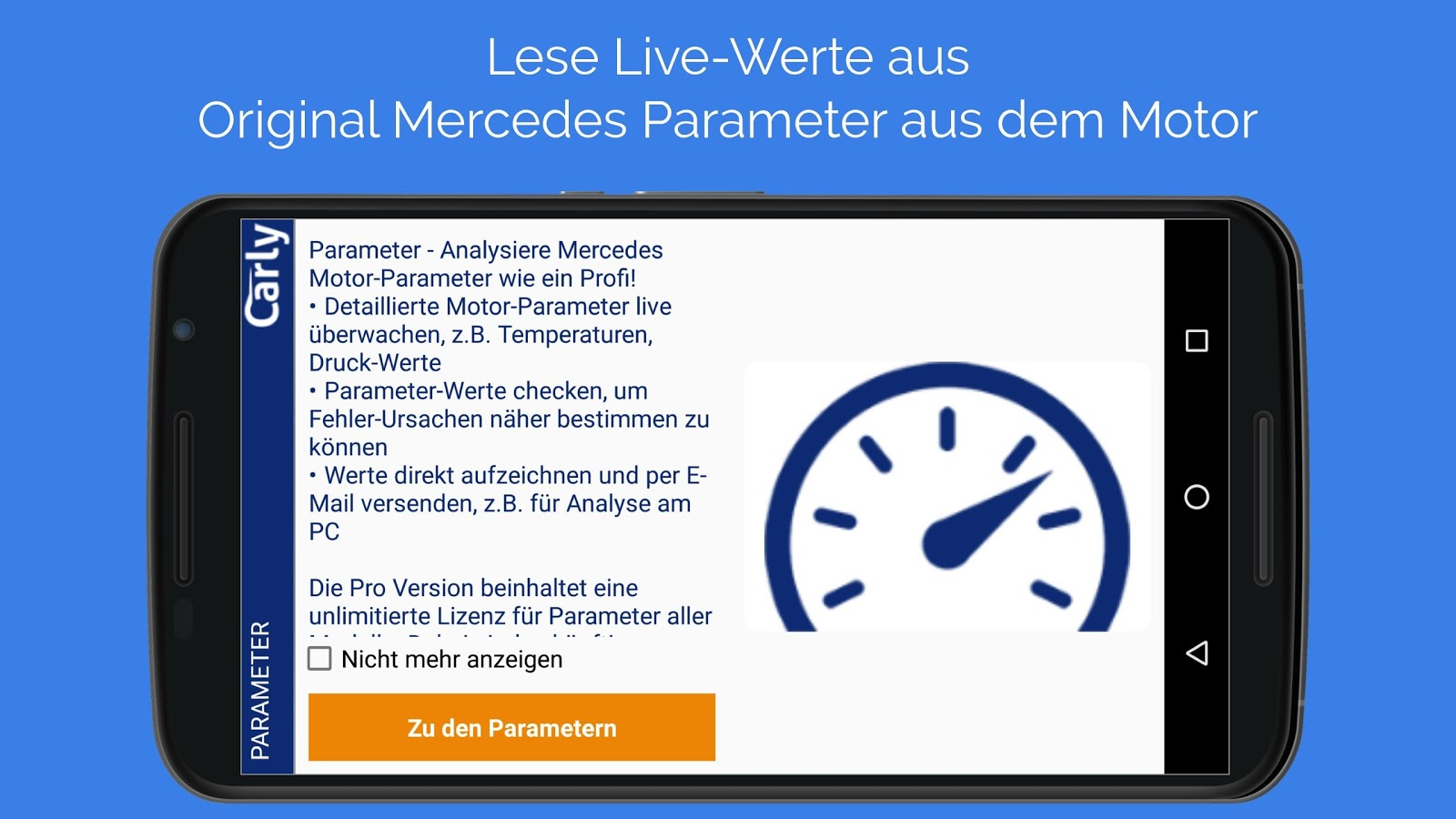 Carly für Mercedes – Screenshot