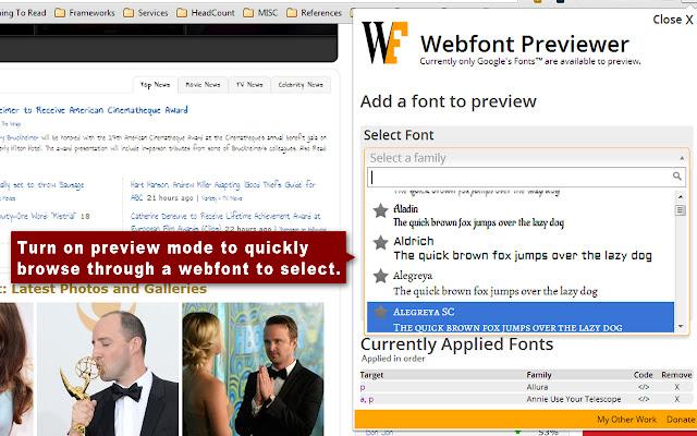 Webfont Previewer