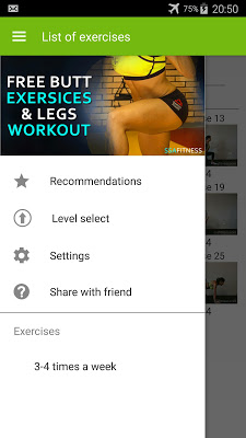 Butt Exersices & Legs Workout - screenshot