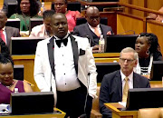 SA is facing a crisis of violence against women and children but our MPs, such as Boy Mamabolo and Julius Malema, choose to trivialise the issue instead of doing something about it, the writer says.