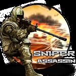 Sniper Fury Assassin 3D Shooting Killer Gun Games Icon