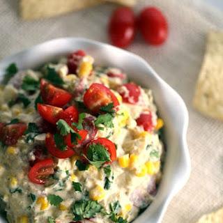 Slow Cooker Salsa Verde Corn Dip