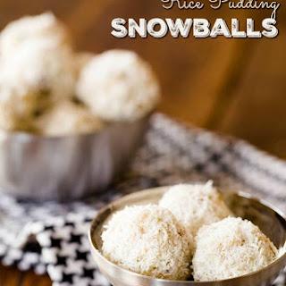Rice Pudding Snowballs