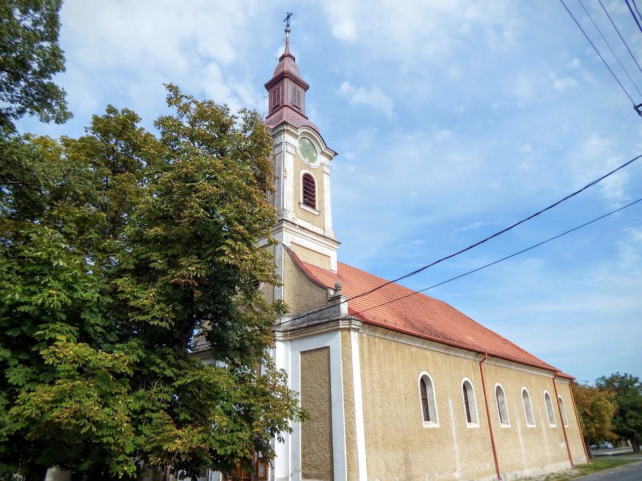 Nagyvázsony - Szent Ilona rk. templom