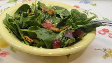 Spring Salad with Orange Dressing
